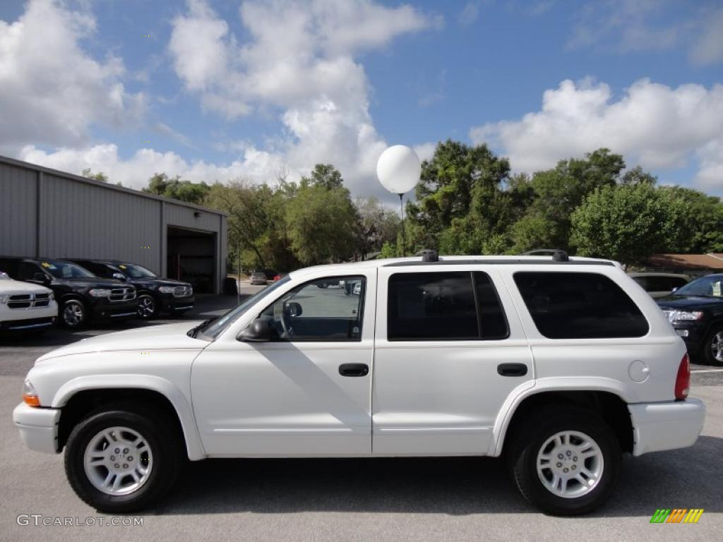 Bright white 2003 dodge durango slt exterior photo 48484842