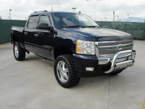 2007 chevrolet silverado 1500 lt z71 crew cab 4x4 data. Black Bedroom Furniture Sets. Home Design Ideas