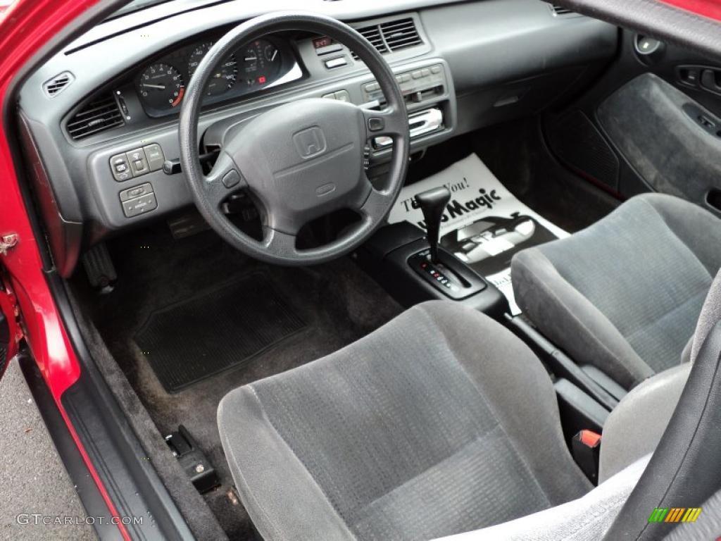 black interior 1995 honda civic ex coupe photo 48490843