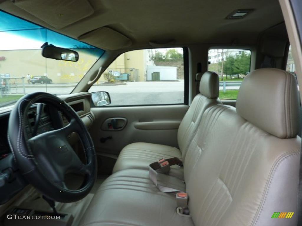 1998 GMC Sierra 3500 SL Extended Cab 4x4 Dually Interior ...