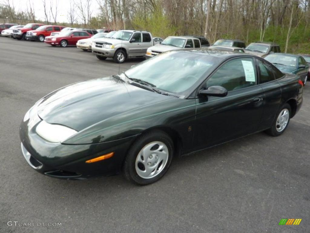 Green 2001 saturn s series sc1 coupe exterior photo 48494578