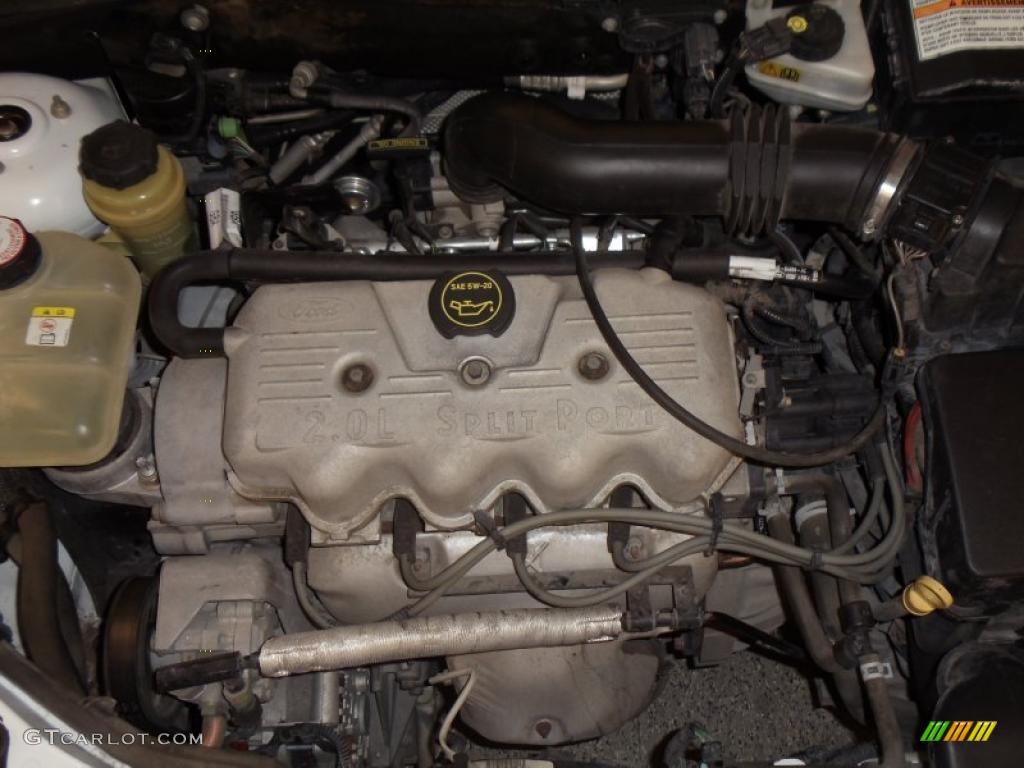 2001 ford focus lx sedan 2 0 liter dohc 16 valve zetec 4 cylinder engine photo 48495022. Black Bedroom Furniture Sets. Home Design Ideas