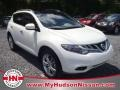 2011 Glacier White Pearl Nissan Murano LE  photo #1