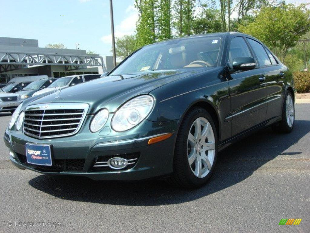 2007 jade green metallic mercedes benz e 350 sedan for 2007 mercedes benz e 350