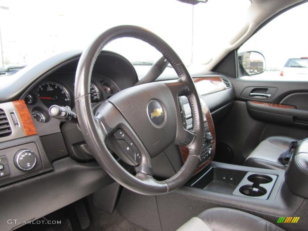 2007 chevrolet tahoe lt 4x4 light titanium ebony steering. Black Bedroom Furniture Sets. Home Design Ideas