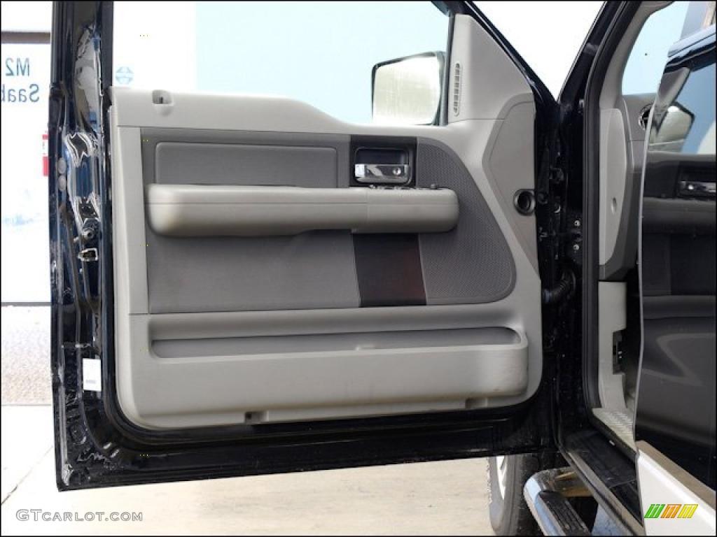 2005 Ford F150 XLT SuperCab 4x4 Medium Flint Grey Door Panel Photo #48518023 & 2005 Ford F150 XLT SuperCab 4x4 Medium Flint Grey Door Panel Photo ...