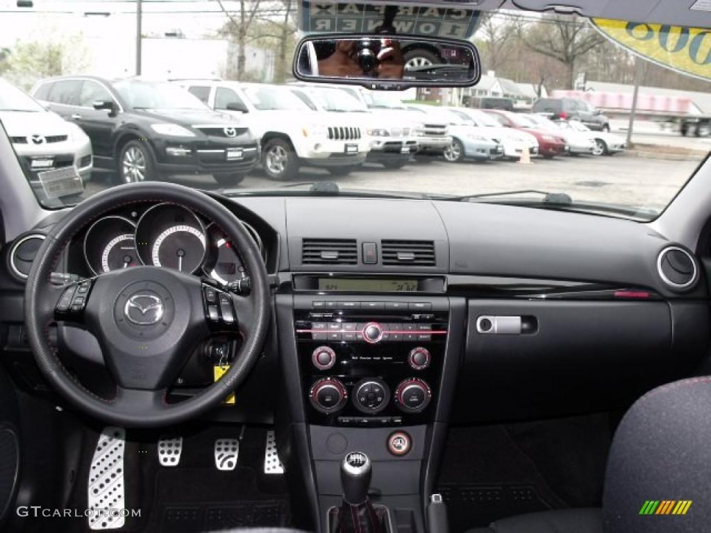 2008 Mazda MAZDA3 MAZDASPEED Sport MAZDASPEED Black Dashboard