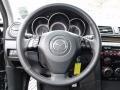 MAZDASPEED Black 2008 Mazda MAZDA3 MAZDASPEED Sport Steering Wheel
