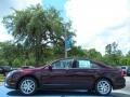 2011 Bordeaux Reserve Metallic Ford Fusion SEL  photo #2