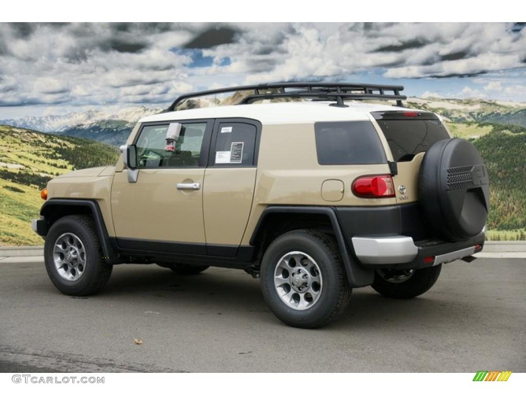 Fj Cruiser Sticker >> Quicksand 2011 Toyota FJ Cruiser 4WD Exterior Photo ...