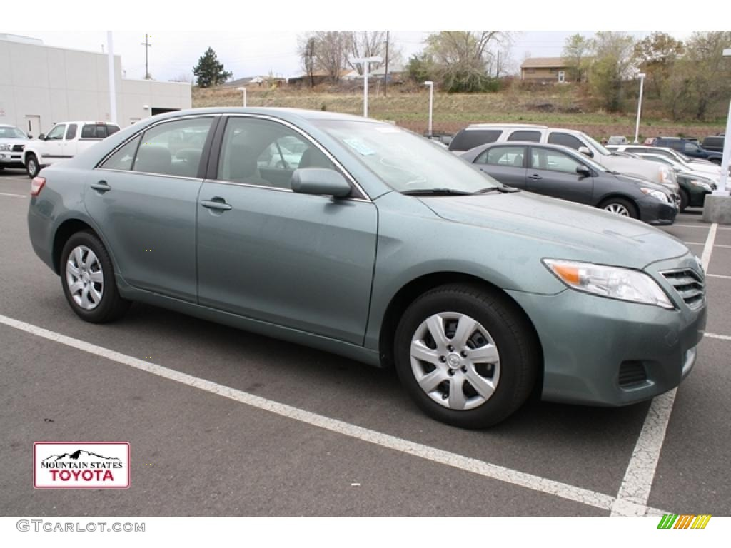 Toyota Aloe Green Metallic Paint