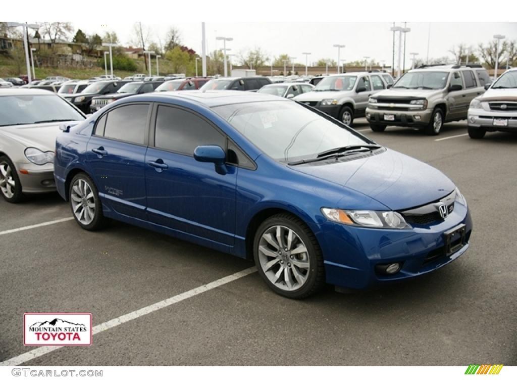 2011 Honda Civic Si >> 2011 Dyno Blue Pearl Honda Civic Si Sedan 48520120