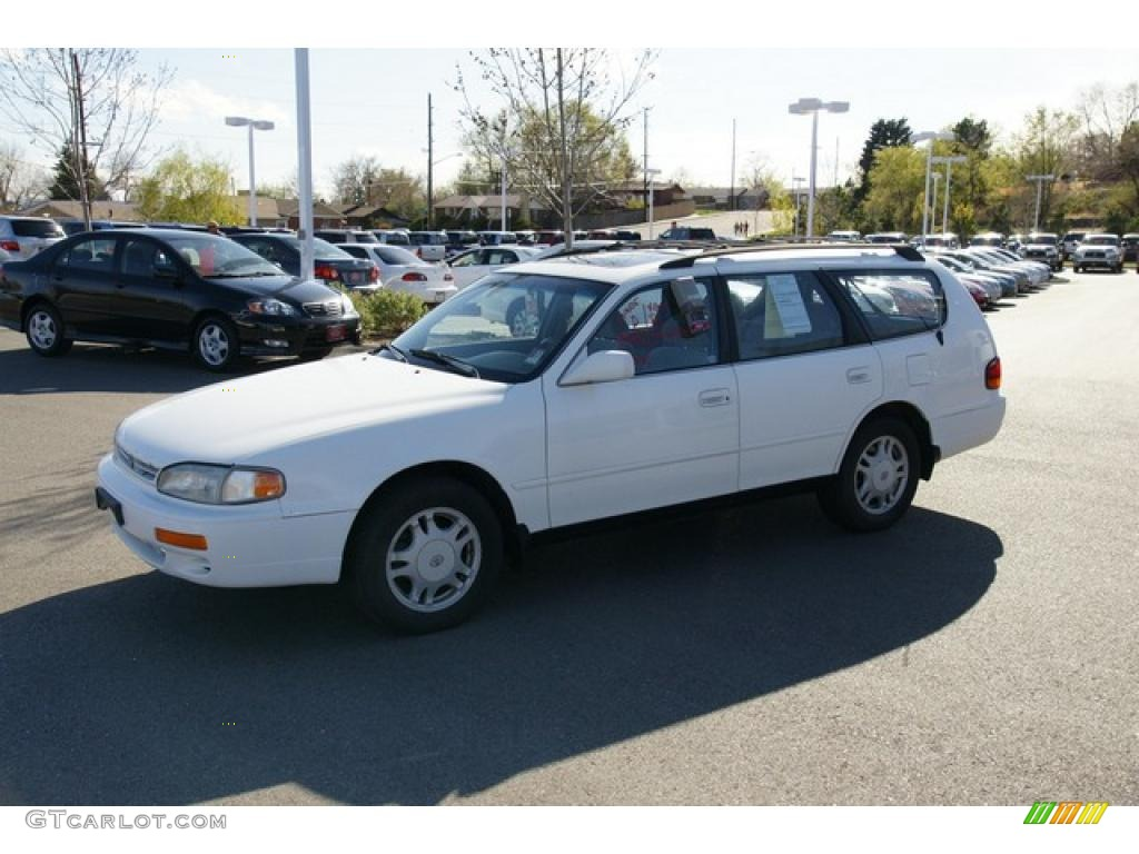 1996 super white toyota camry le v6 wagon 48520122 photo. Black Bedroom Furniture Sets. Home Design Ideas