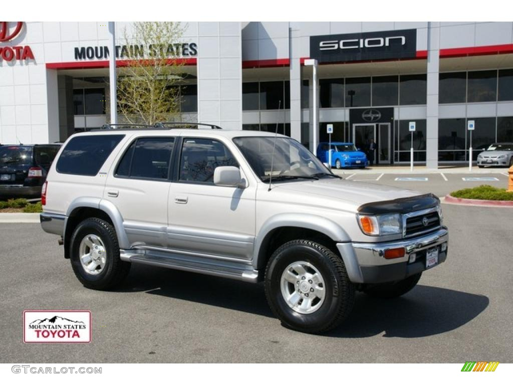 1997 natural white toyota 4runner limited 4x4 48520123 car color galleries. Black Bedroom Furniture Sets. Home Design Ideas