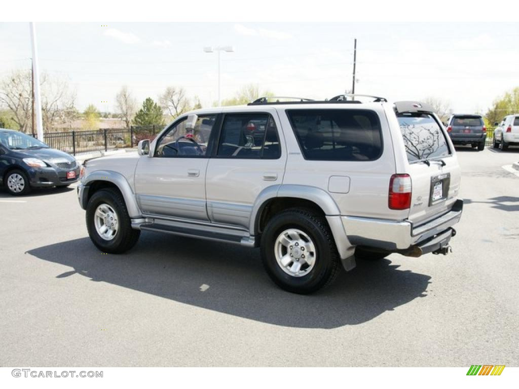 1997 natural white toyota 4runner limited 4x4 48520123 photo 4 car color. Black Bedroom Furniture Sets. Home Design Ideas