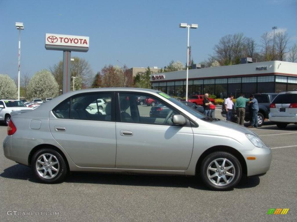Silver Strata Metallic Toyota Prius Hybrid - 2003 prius