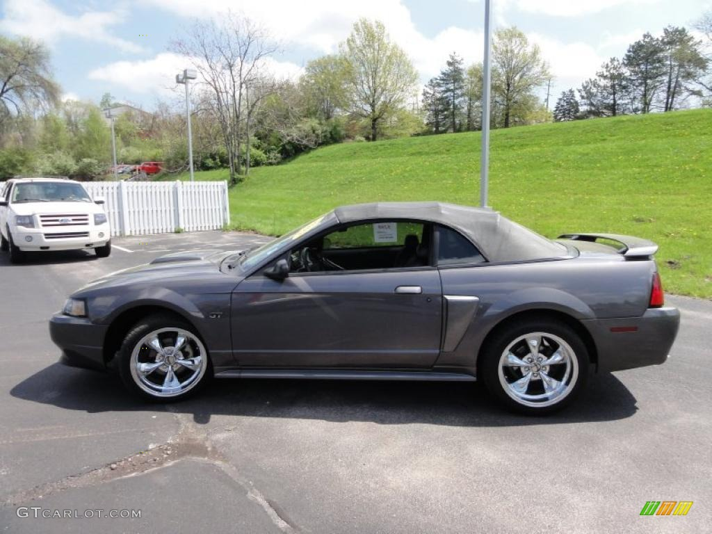 dark shadow grey metallic 2003 ford mustang gt convertible exterior photo 48542405. Black Bedroom Furniture Sets. Home Design Ideas