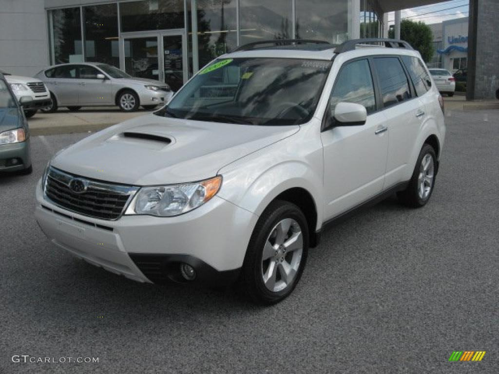 satin white pearl 2009 subaru forester 2 5 xt limited exterior photo 48544100. Black Bedroom Furniture Sets. Home Design Ideas