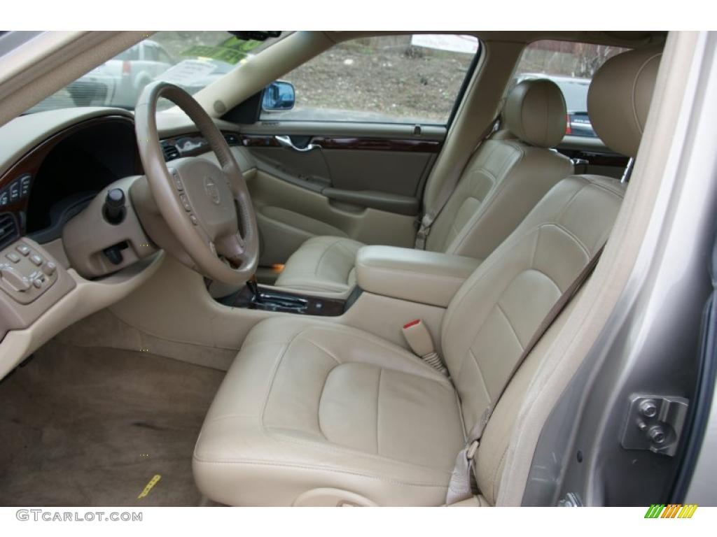 Cashmere Interior 2004 Cadillac Deville Dts Photo 48548198