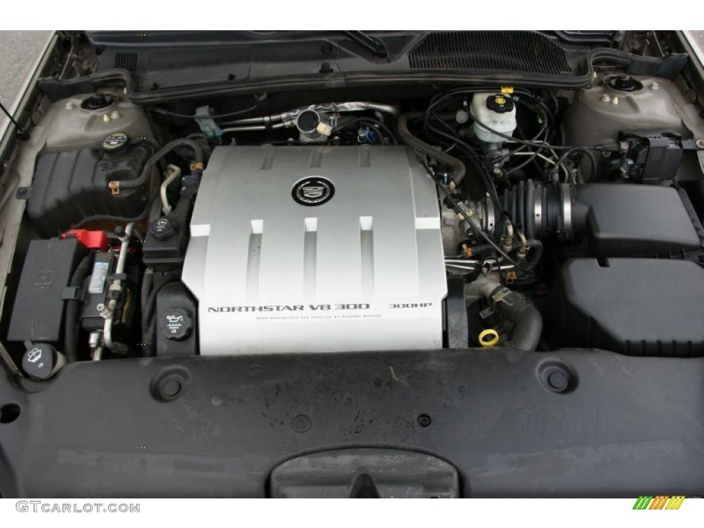 2004 Cadillac Deville Dts 4 6 Liter Dohc 32 Valve
