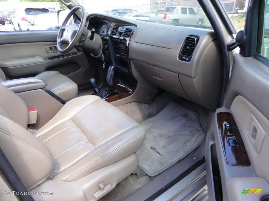 Oak Interior 2001 Toyota 4runner Limited 4x4 Photo 48552935