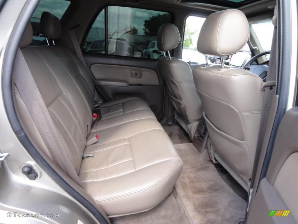 Oak Interior 2001 Toyota 4runner Limited 4x4 Photo 48552995