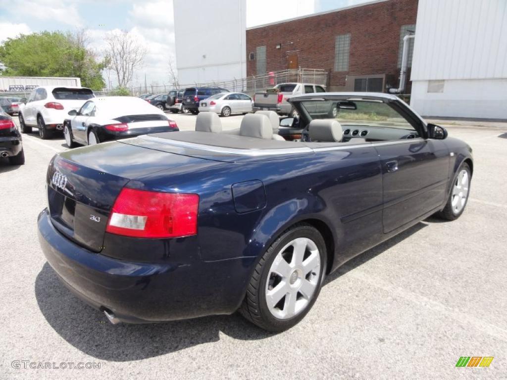 moro blue pearl 2003 audi a4 3 0 cabriolet exterior photo 48554756. Black Bedroom Furniture Sets. Home Design Ideas