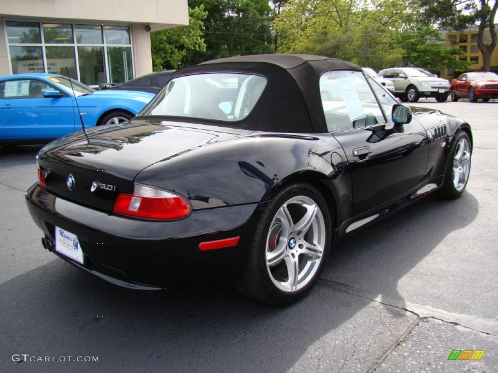 Jet Black 2001 Bmw Z3 3 0i Roadster Exterior Photo 48558617 Gtcarlot Com