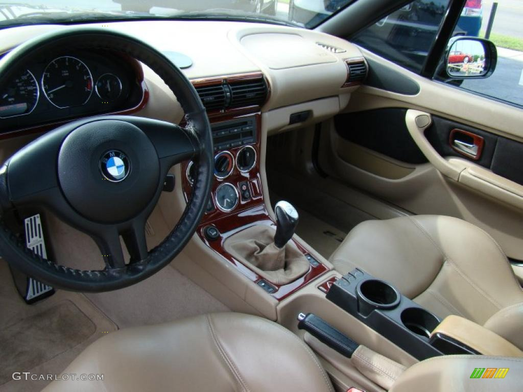 Beige Interior 2001 Bmw Z3 3 0i Roadster Photo 48558683 Gtcarlot Com