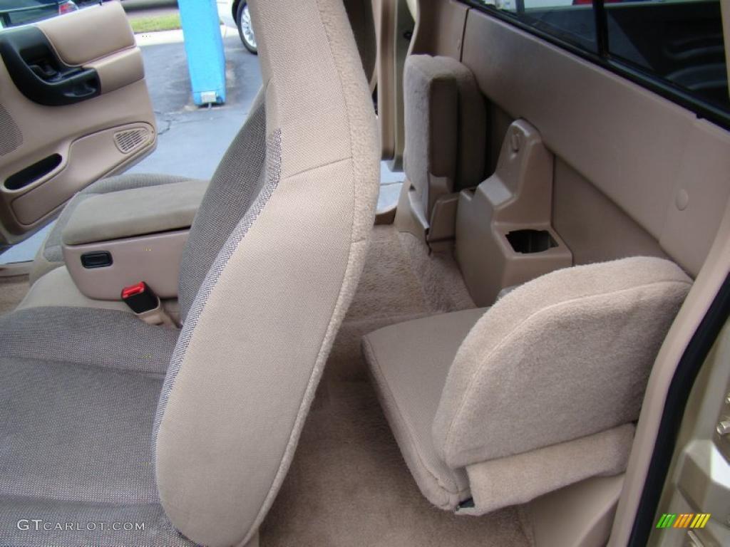 Medium Prairie Tan Interior 2000 Ford Ranger Xlt Supercab Photo 48558965