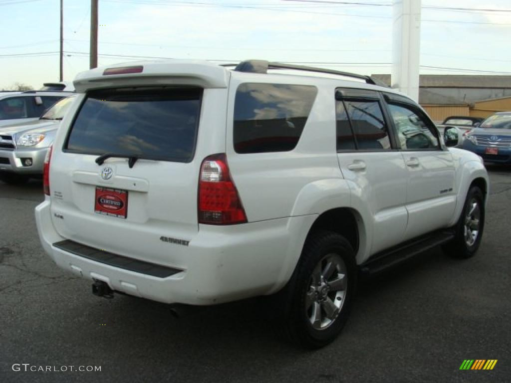 2007 Natural White Toyota 4runner Limited 4x4 48520546 Photo 4 Gtcarlot Com Car Color Galleries