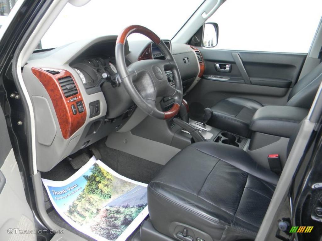 2004 mitsubishi montero limited 4x4 interior photo for Mitsubishi montero interior