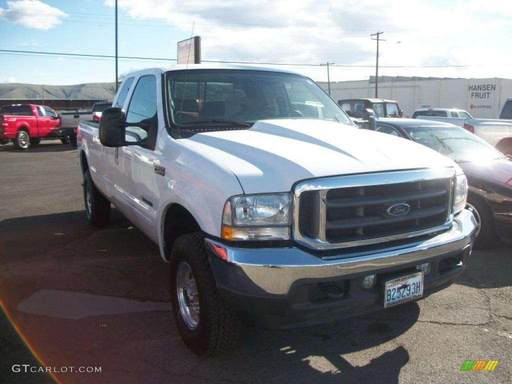 Oxford white ford f250 super duty ford f250 super duty lariat supercab 4x4