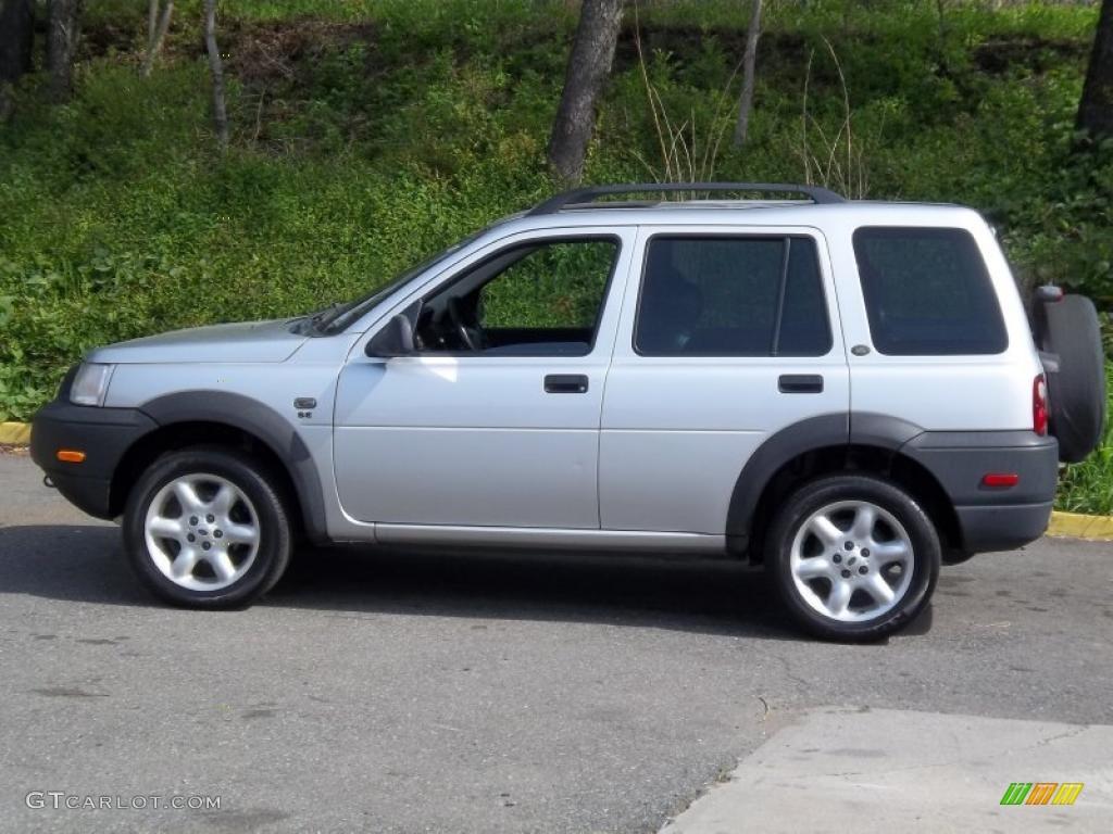 Zambezi Silver Metallic 2003 Land Rover Freelander Se