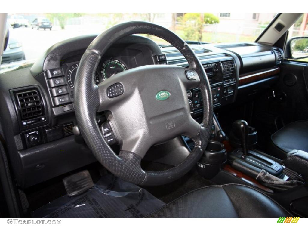 Black Interior 2004 Land Rover Discovery Hse Photo 48573041