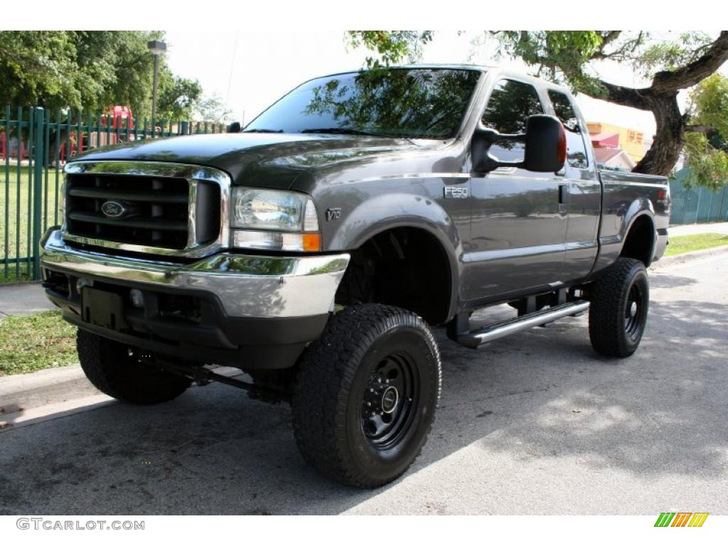 2004 F250 Super Duty FX4 SuperCab 4x4 - Dark Shadow Grey Metallic / Medium Flint photo #1