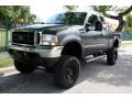 2004 Dark Shadow Grey Metallic Ford F250 Super Duty FX4 SuperCab 4x4  photo #1