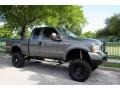 2004 Dark Shadow Grey Metallic Ford F250 Super Duty FX4 SuperCab 4x4  photo #11