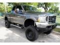 2004 Dark Shadow Grey Metallic Ford F250 Super Duty FX4 SuperCab 4x4  photo #13