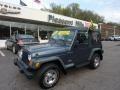 Steel Blue Pearl 2001 Jeep Wrangler Gallery