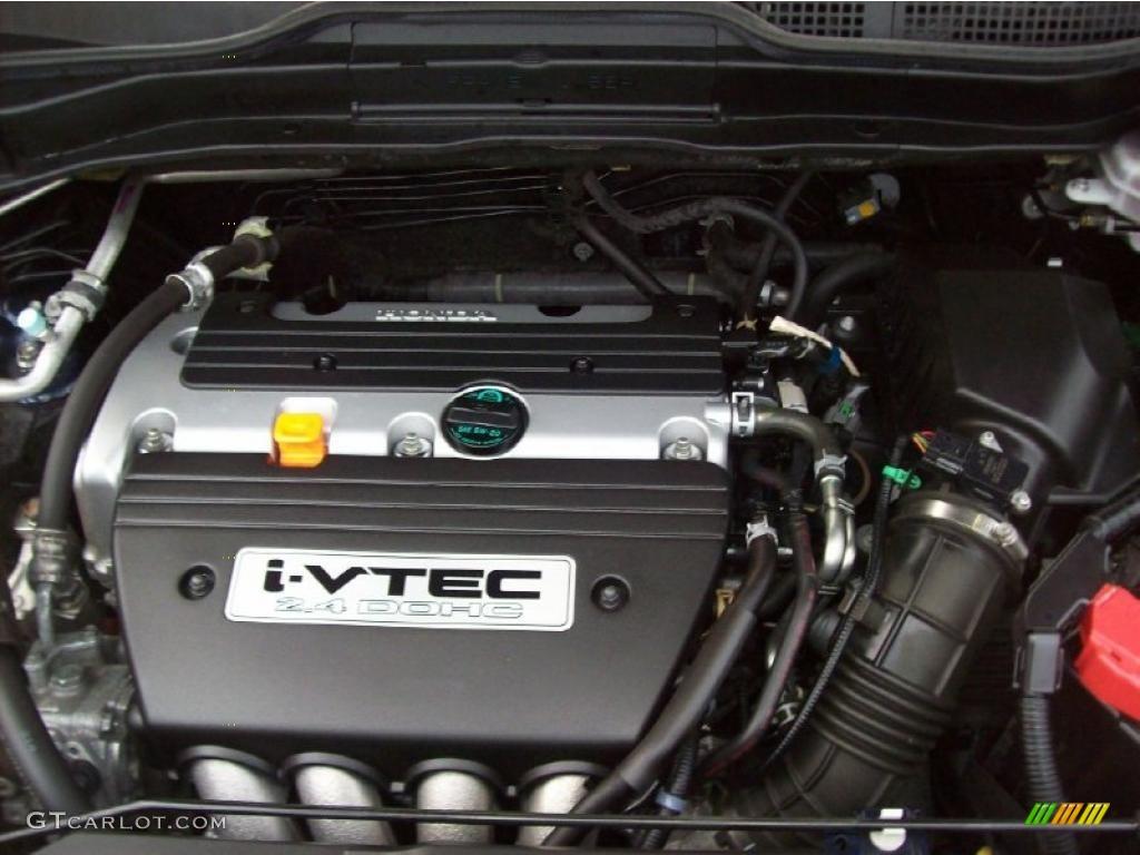 2008 CR-V LX 4WD - Royal Blue Pearl / Gray photo #7