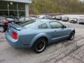 2006 Windveil Blue Metallic Ford Mustang V6 Premium Coupe  photo #2