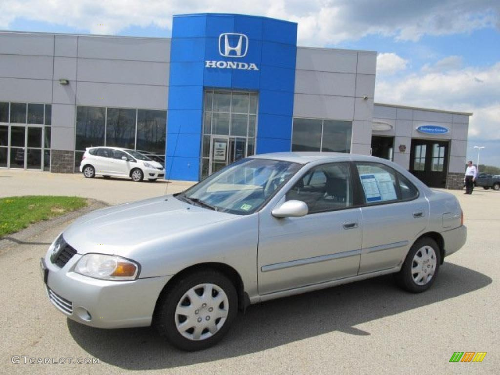 All Types 2004 sentra : 2004 Molten Silver Nissan Sentra 1.8 #48521236 | GTCarLot.com ...