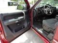2009 Deep Ruby Red Metallic Chevrolet Silverado 1500 LT Extended Cab  photo #4