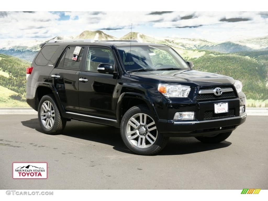 2011 Black Toyota 4runner Limited 4x4 48581153 Gtcarlot Com Car Color Galleries