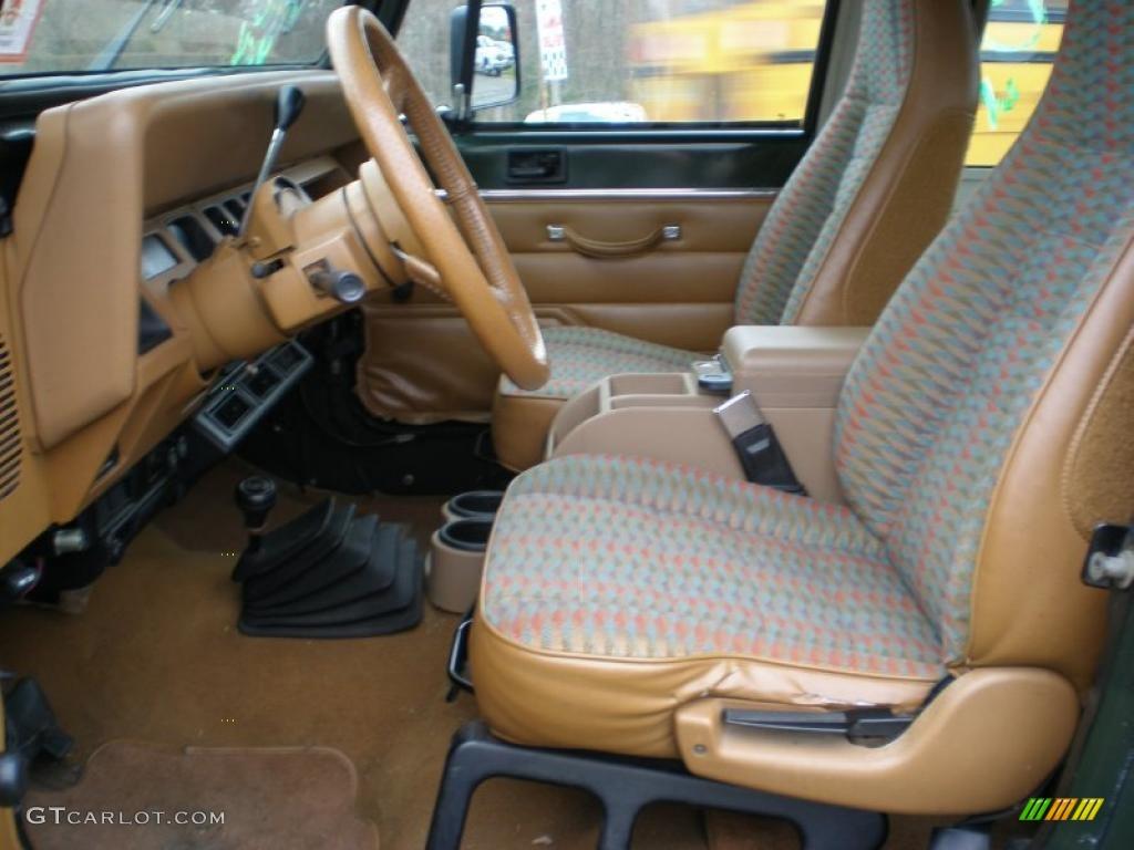 1995 Jeep Wrangler Rio Grande 4x4 Interior Photo 48614105