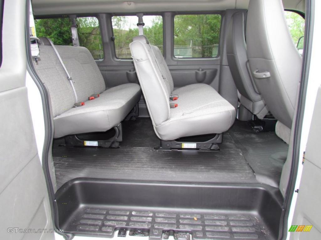 2011 chevrolet express ls 3500 passenger van interior photo 48616595