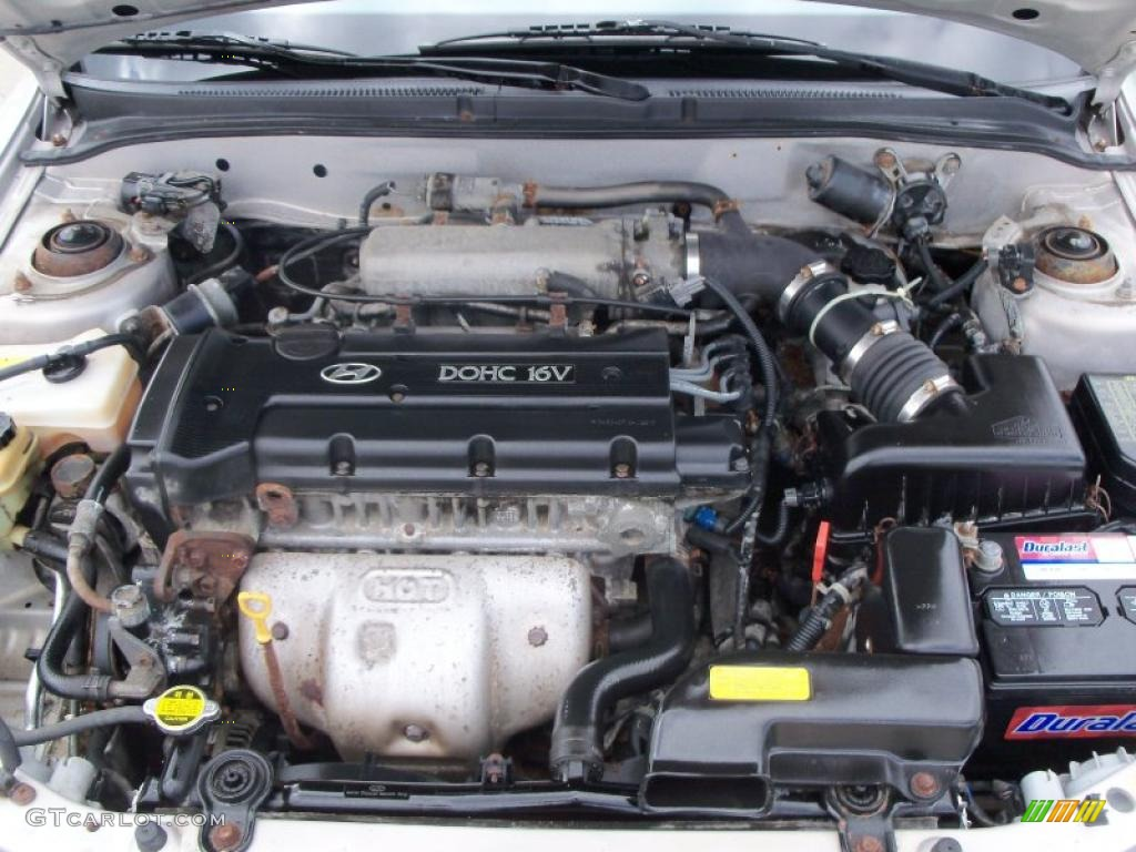 2000 Hyundai Elantra Gls Sedan 2 0 Liter Dohc 16 Valve 4 Cylinder Engine Photo 48619862