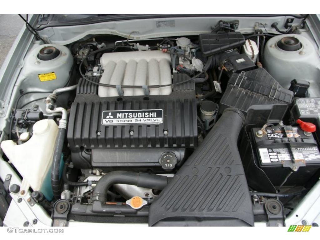 2004 Mitsubishi Diamante Ls 3 5 Liter Sohc 24 Valve V6