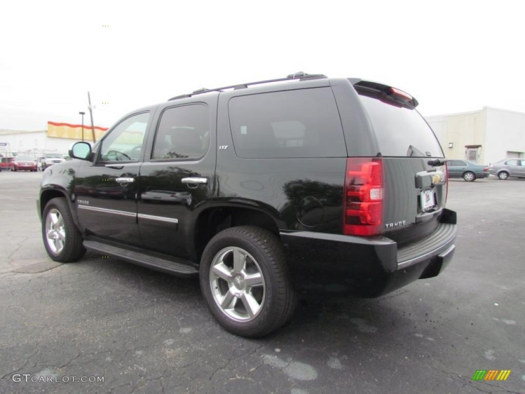 Black 2011 Chevrolet Tahoe Ltz Exterior Photo 48622079